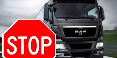 Απαγόρευση κυκλοφορίας φορτηγών ωφέλιμου φορτίου άνω του 1,5 τόνου κατά την περίοδο εορτασμού των Αποκριών και της Καθαράς Δευτέρας