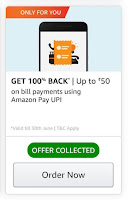Amazon Bill Payment Coupon