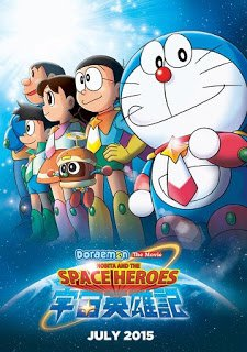 Nonton Doraemon: Nobita and the Space Heroes (2015)