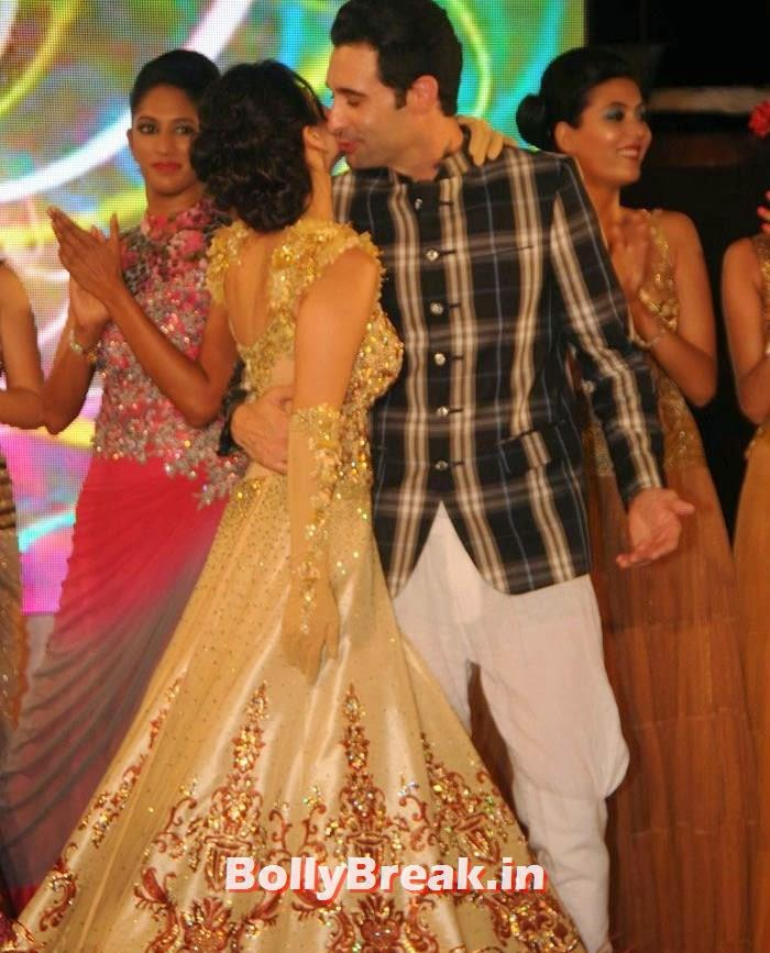 Sunny Leone, Daniel Weber, Sunny Leone, Koena Mitra Hot Pics from  Rohit Verma's Bridal Show