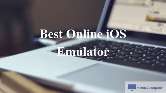 Best Online iPhone Emulators,iPad emulators