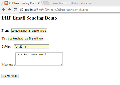 PHP-email-sending-example-in-Hindi