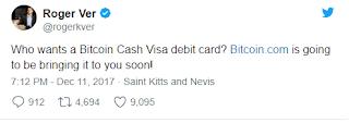 Bitcoin.com выпускает дебетовую карту Visa