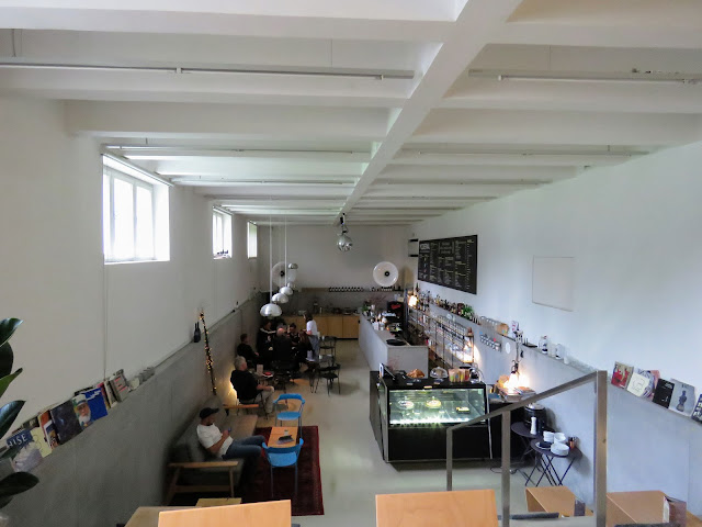 3 days in Ljubljana Slovenia: coffee at the Museum of Modern Art cafe