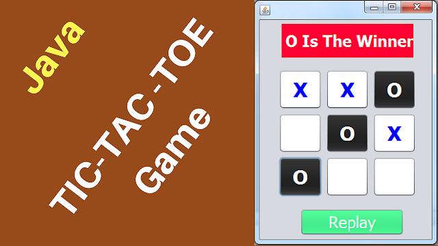 Java Tic-Tac-Toe Game