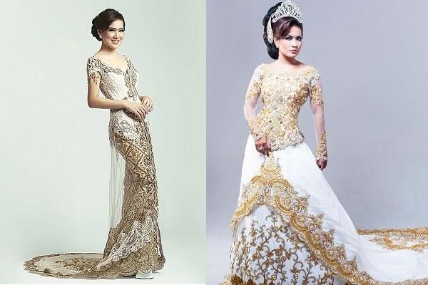 Model baju kebaya pengantin terbaru | Timy-time