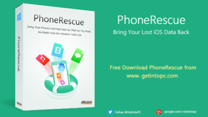 تحميل برنامج استعادة الملفات المحذوفة Phonerescue-Free-Dow