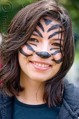 Cute Babies Free Download Wallpapers Clip Art And Picture Cute Tiger Face Paint