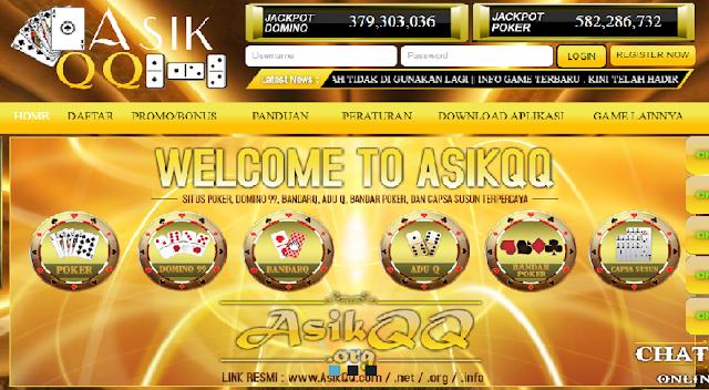 AsikQQ Situs Domino dan BandarQ Online Terpercaya di Indonesia