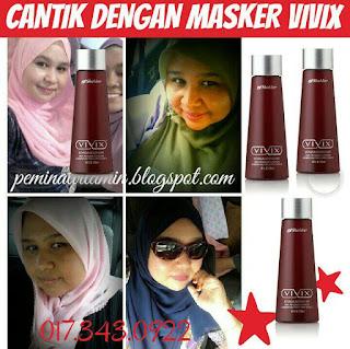 masker vivix untuk kulit cantik