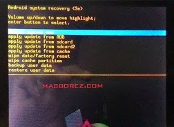 Cara hard reset advan T1L