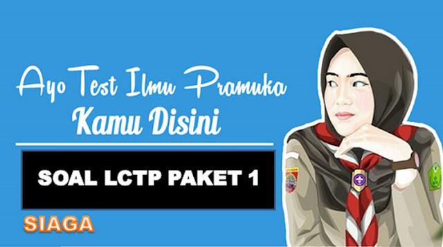 Soal Lomba Cerdas Tangkas Pramuka (LCTP) Siaga 2018 Paket 1