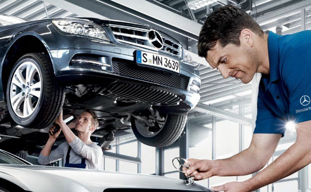 How often does a Mercedes-Benz need to be serviced reviews