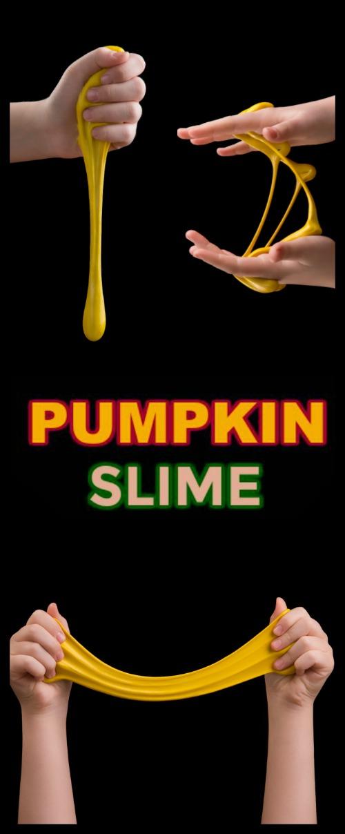 PUMPKIN SLIME! Easy recipe! ( smells just like pumpkin pie!) #slime #slimerecipe #howtomakeslime #pumpkinslime #slimerecipeeasy #slimerecipewithboraxandglue