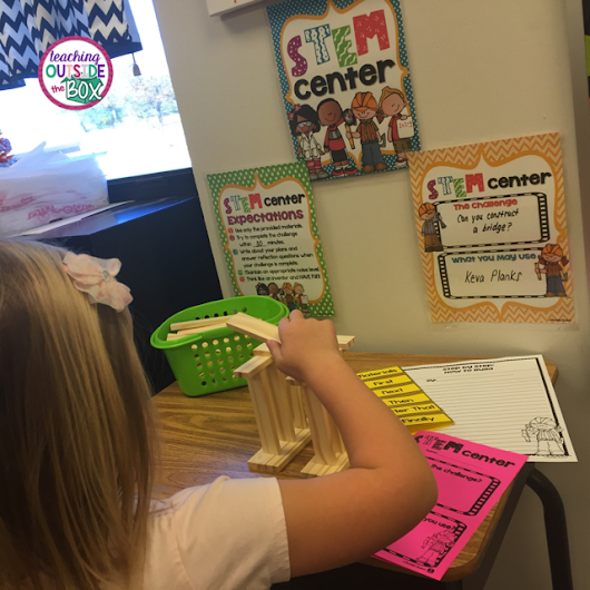 Teaching Outside the Box: Setting up a Classroom STEM Center