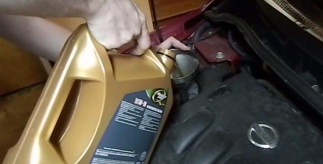 Comment changer l'huile de voiture