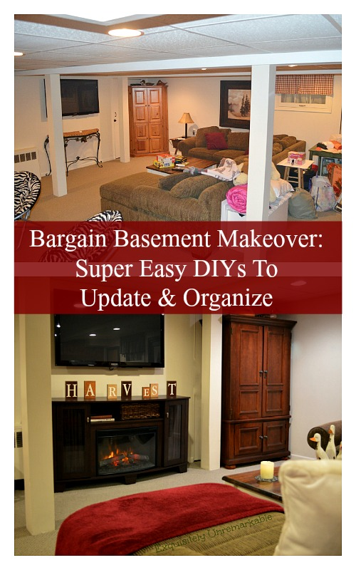 Quick and Easy DIYs To Organize and Decorate Your Basement