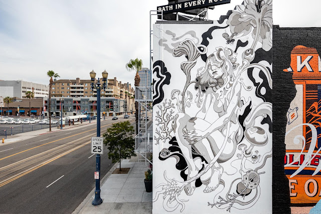 James Jean was also in California for the excellent Pow! Wow! Long Beach which took place earlier this month.