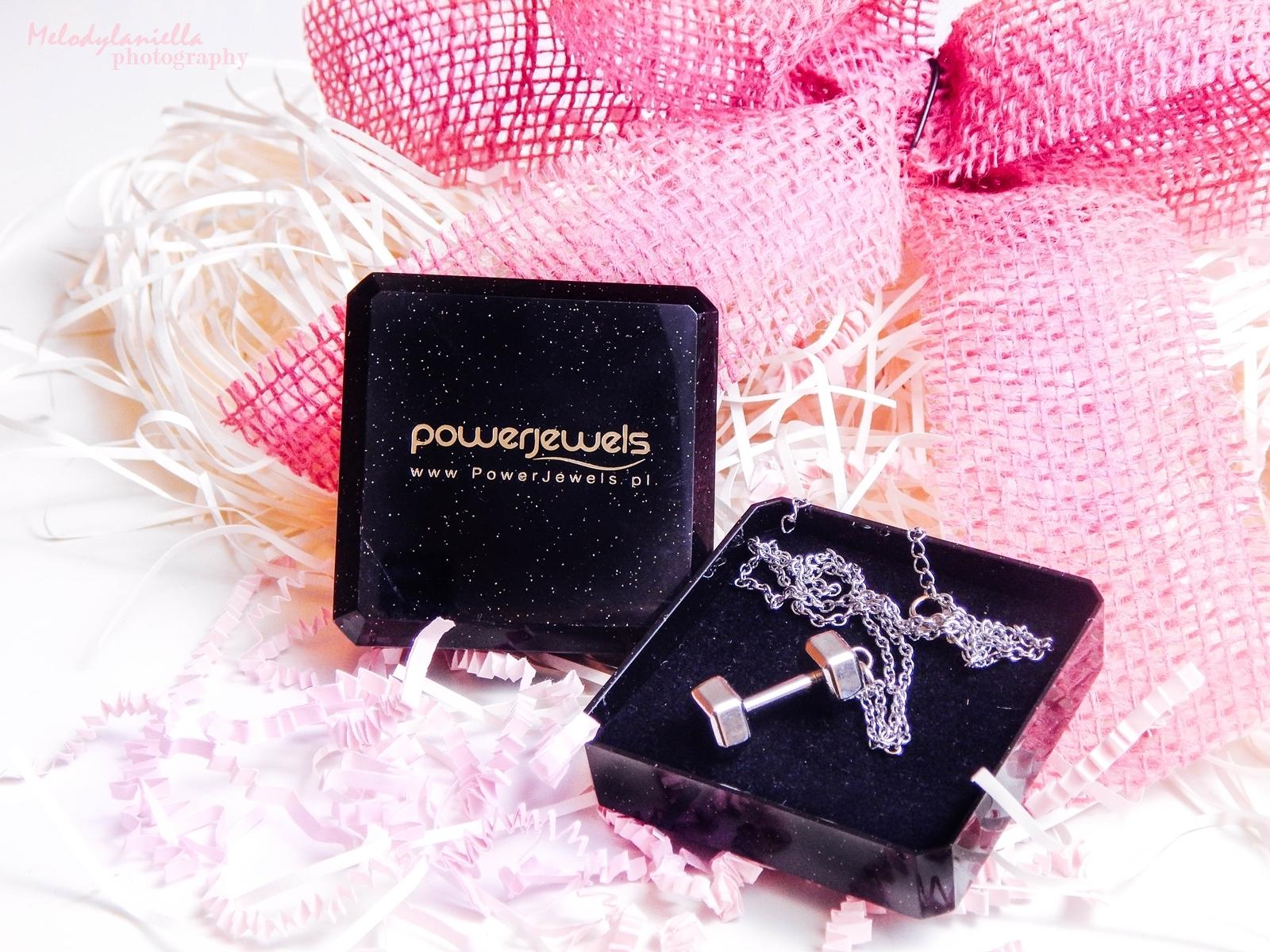 bizuteria dla aktywnych kobiet prezent dla lubiących sport power jewels sztanga srebro bransoletka
