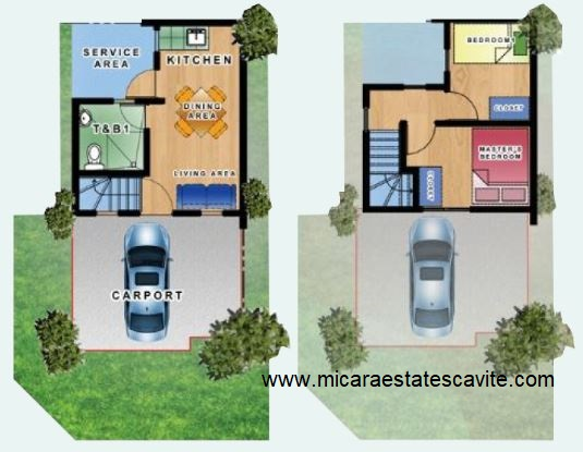 Tricia House Model at Micara Estates Cavite