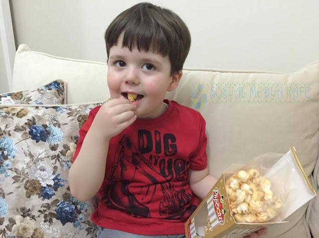 MrandMrsPopcorn Karamelli Popcorn