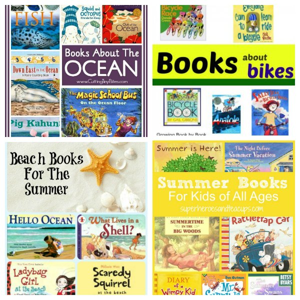 Stop the summer slide with fun book activities and crafts for kids! Find books to keep kids reading all summer long.