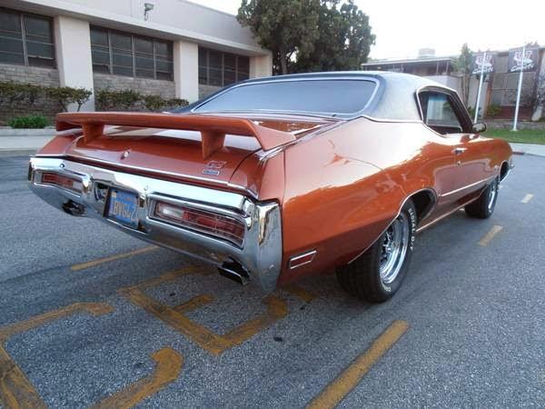 Buick Gs Rear Side