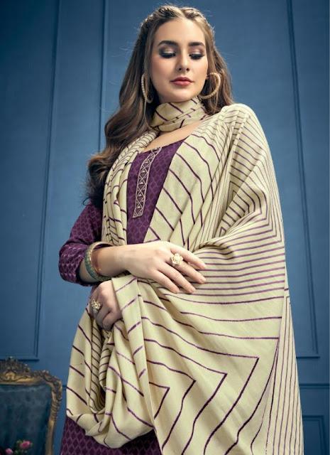 Aarohi Pashmina Woolen Winter Salwar kameez Wholesaler
