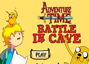 Adventure Time Battle in Cave juego