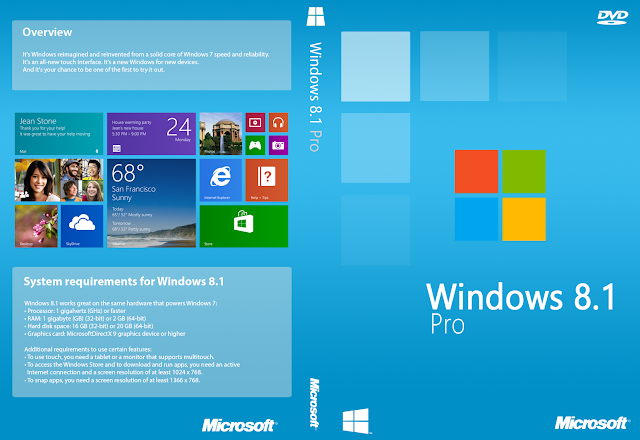 Windows 8.1 Update Professional x64 ISO