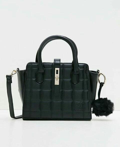 Jims Honey Pillow Bag Black