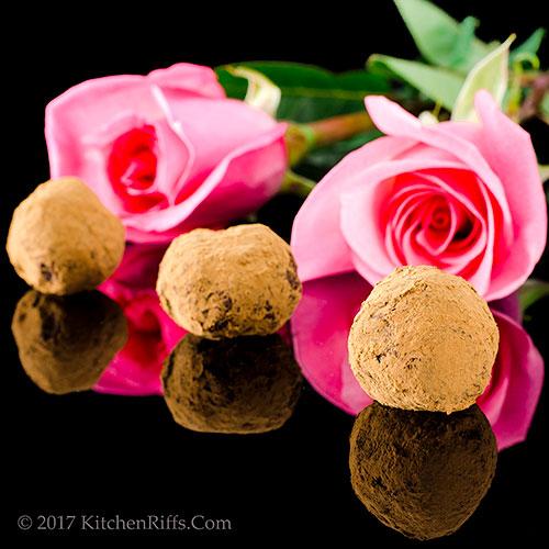 Chocolate-Rum Truffles