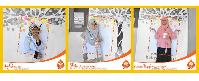 Profil Relawan Kelas Inspirasi Brebes #3 SDN Kalipucang Robiyatun, Shima Setia Putri, Slamet Umi Maghfiroh
