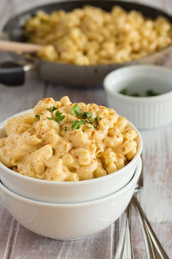 CREAMY VEGAN MAC AND CHEESE #creamy #vegan #veganrecipes #mac #cheese #maccheese