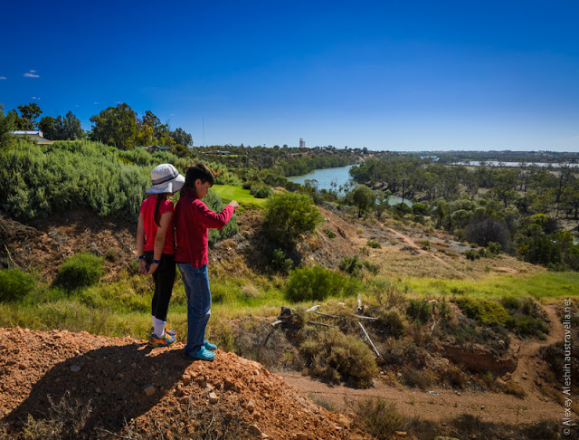 Scenic Lookout at Waikerie Visitor Information Centre
