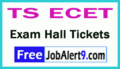 Telangana State Engineering Common Entrance Test TS ECET Exam Hall Tickets  Download