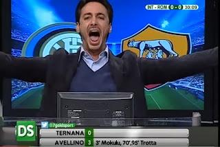Palermo Inter 0-1 commento Filippo Tramontana Direttastadio video
