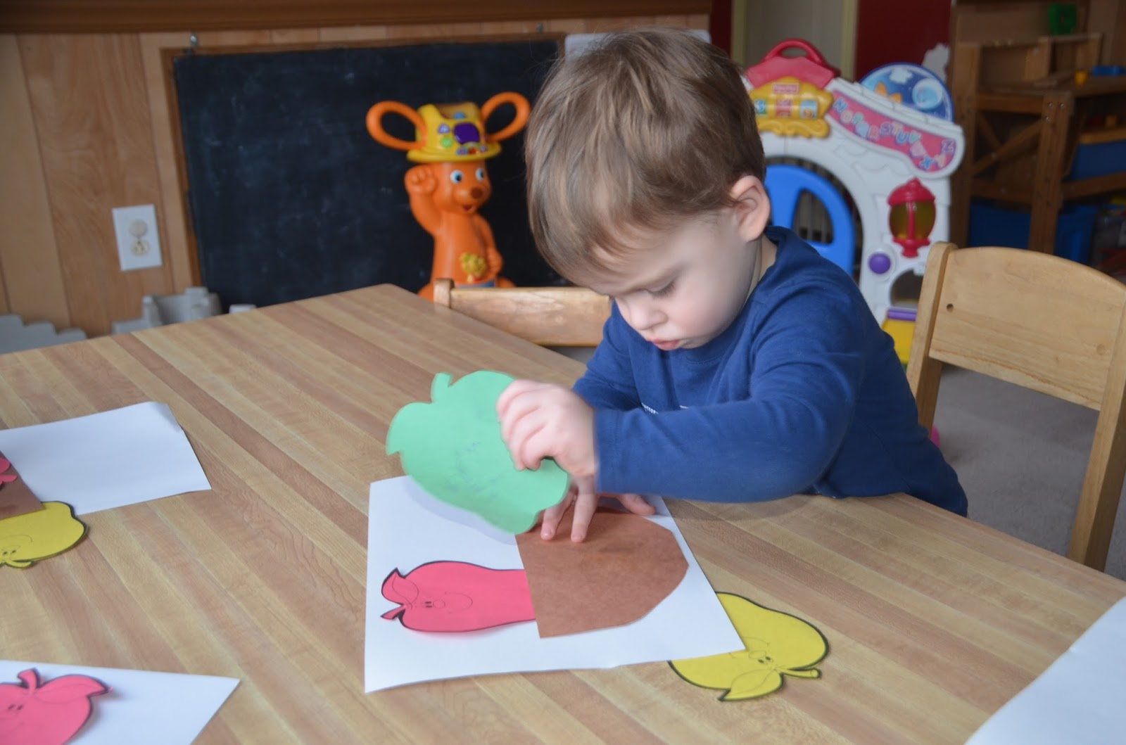 Aunt Tami's House: Learning the Alphabet {Letter A}