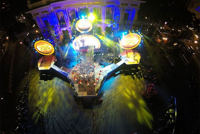 The Most Interesting Places for Amusement in Hanoi on Occasion of 2016 New Year