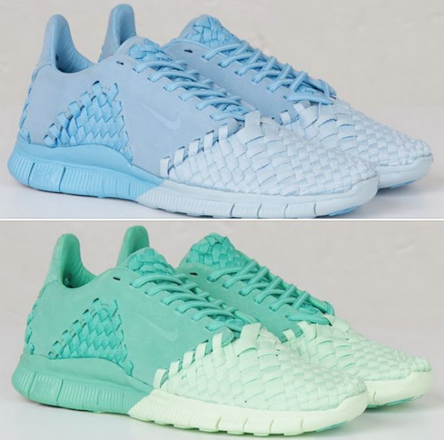 d87d2b56664 Nike Free Inneva Woven II SP Shoes In New Colorways Available like a  Lakeside Blue HERE and a Verde Vapor Green HERE