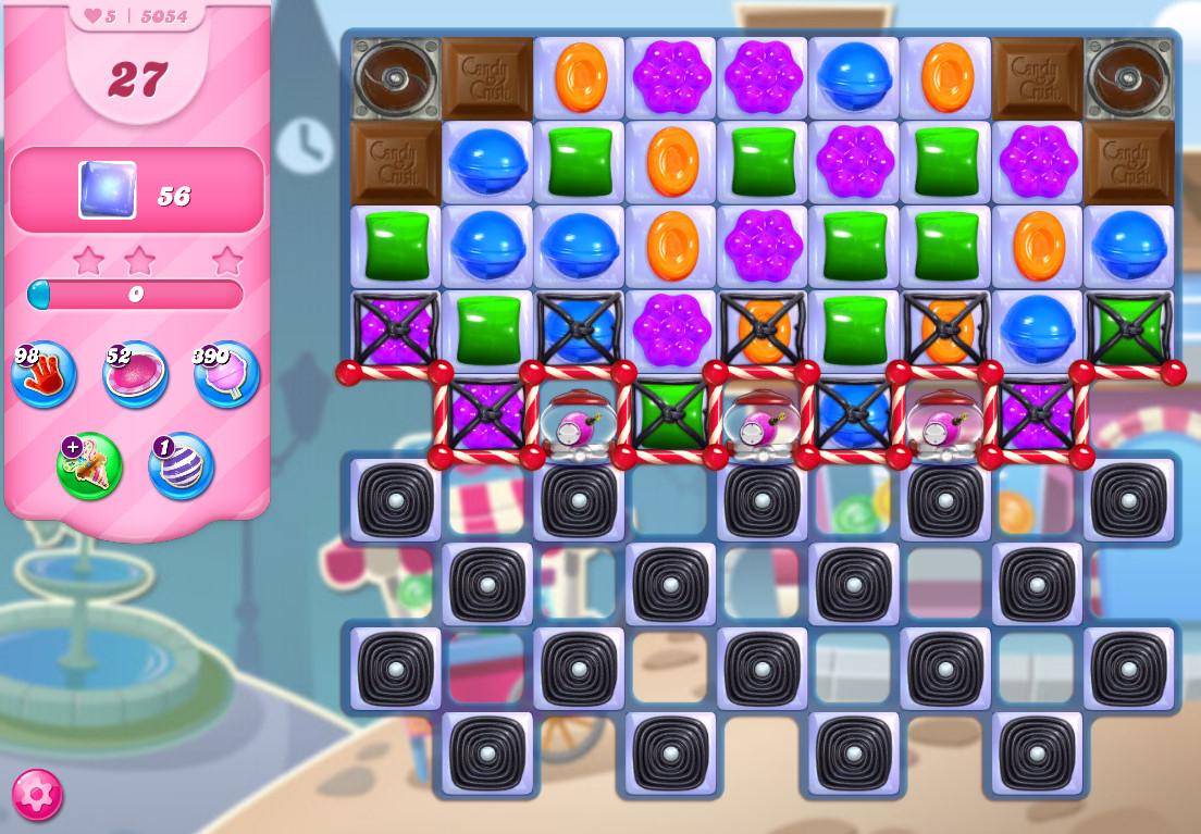 Candy Crush Saga level 5054