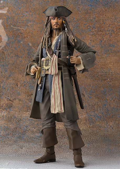 osw.zone SH Figuarts Pirates of the Caribbean: Dead men do not tell stories 1 / 12. Scale Captain Jack Sparrow