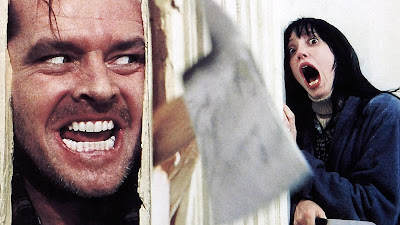 Axe scene from The Shining movie