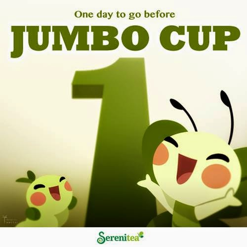 FTW! Blog, Serenitea, 6th year anniversary, milk tea, jumbo cup