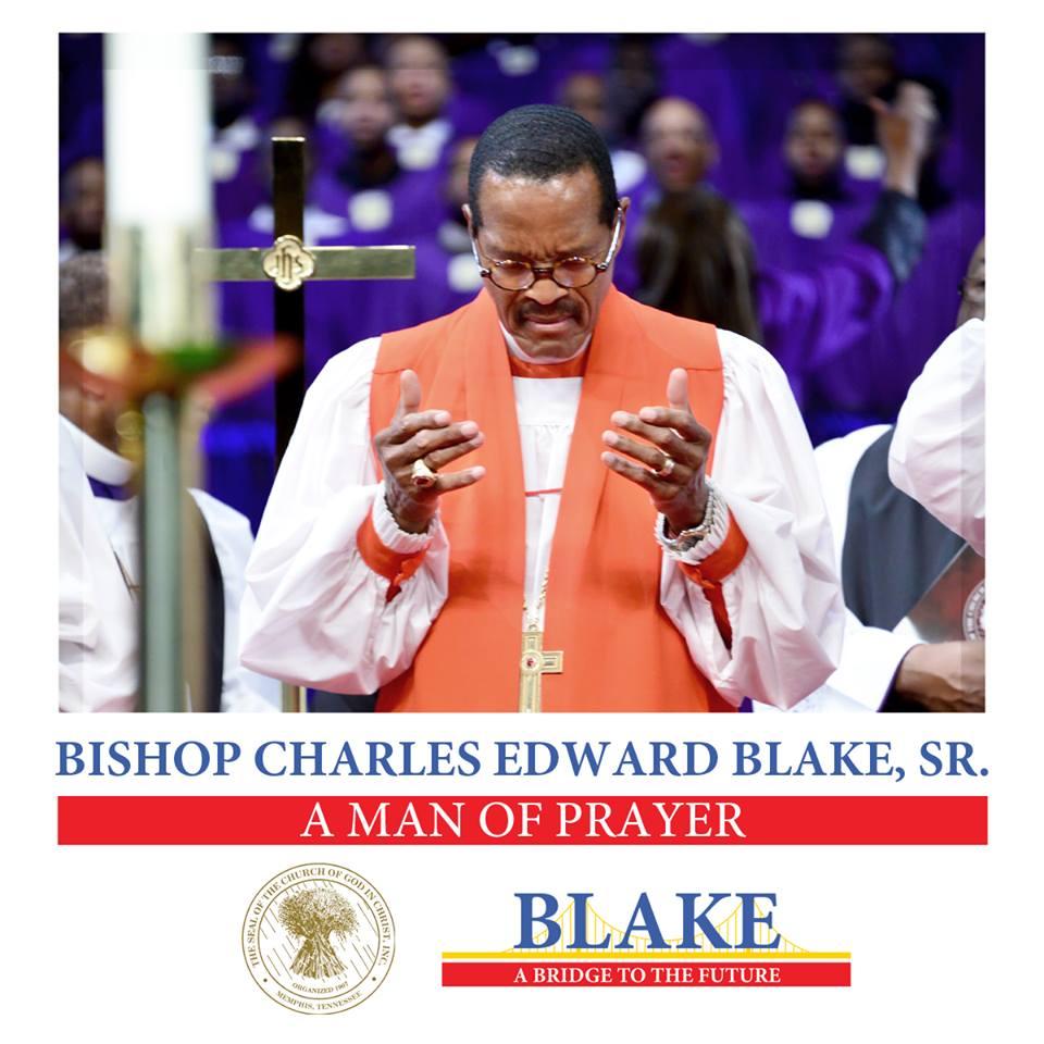 Blake looks so blameless