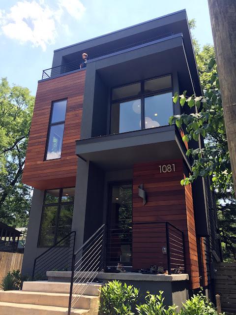 rumah kayu minimalis 2 tingkat