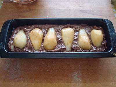 Plumcake pere e cioccolato 9