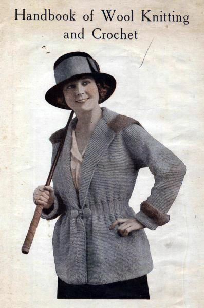 The Vintage Pattern Files: Free 1910's Knitting & Crochet - Handbook of Wool Knitting & Crochet