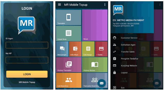 MR Mobile Topup Metro Pulsa Reload