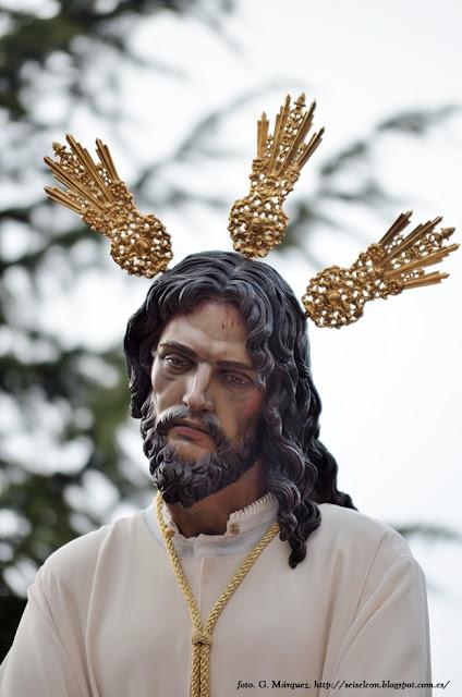 Jesús de la Esperanza Cautivo ante Anás. Cofradía del Sacramentado. León. Foto. G. Márquez